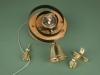 Brass Bell with Lady Disc