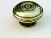 Brass Cupboard Door Knob - Large Bloxwich