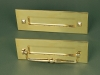 Brass Classc Letterbox & Letterbox with Ripper