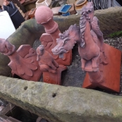 Rat, Hare & Horse Finial