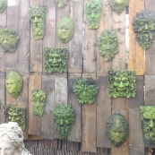 Green Man Wall