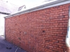 Red Brick Wall Prior to Reclamation