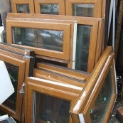 Oak UPVC Windows