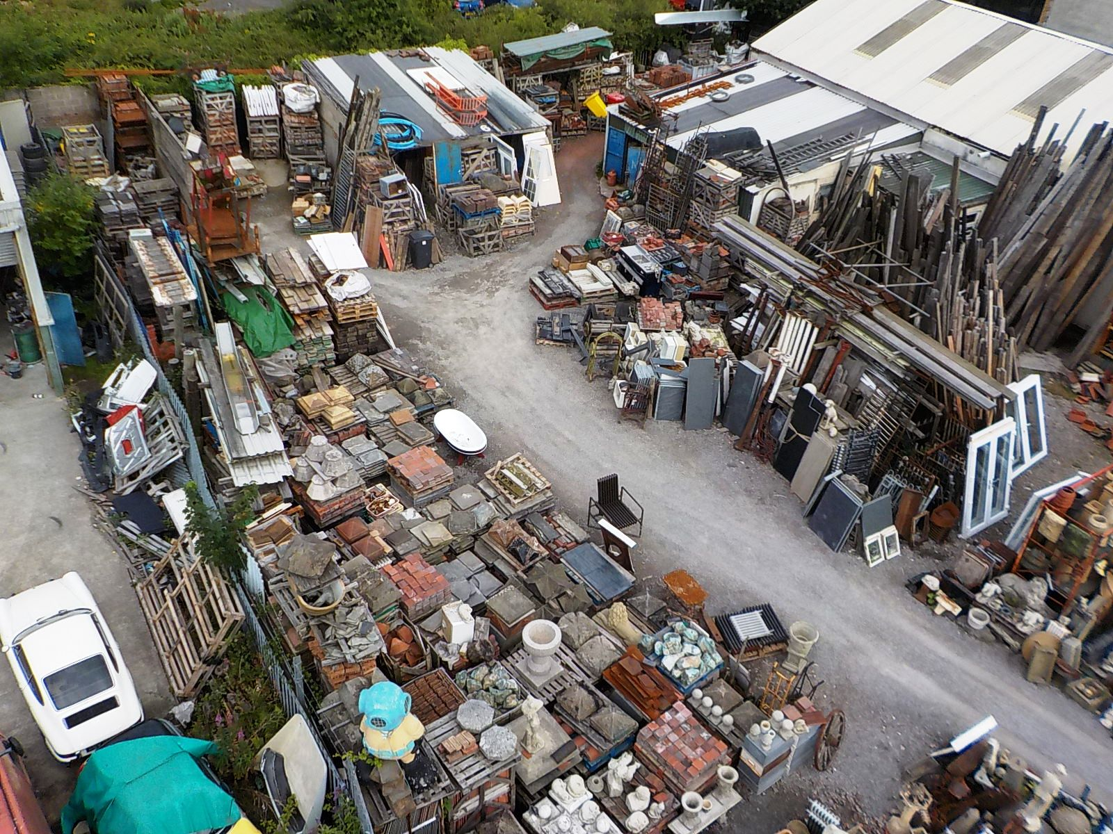 The yard is located on the outskirts of Bridgend near the coast in South Wales. & Theodore Sons u0026 Daughters