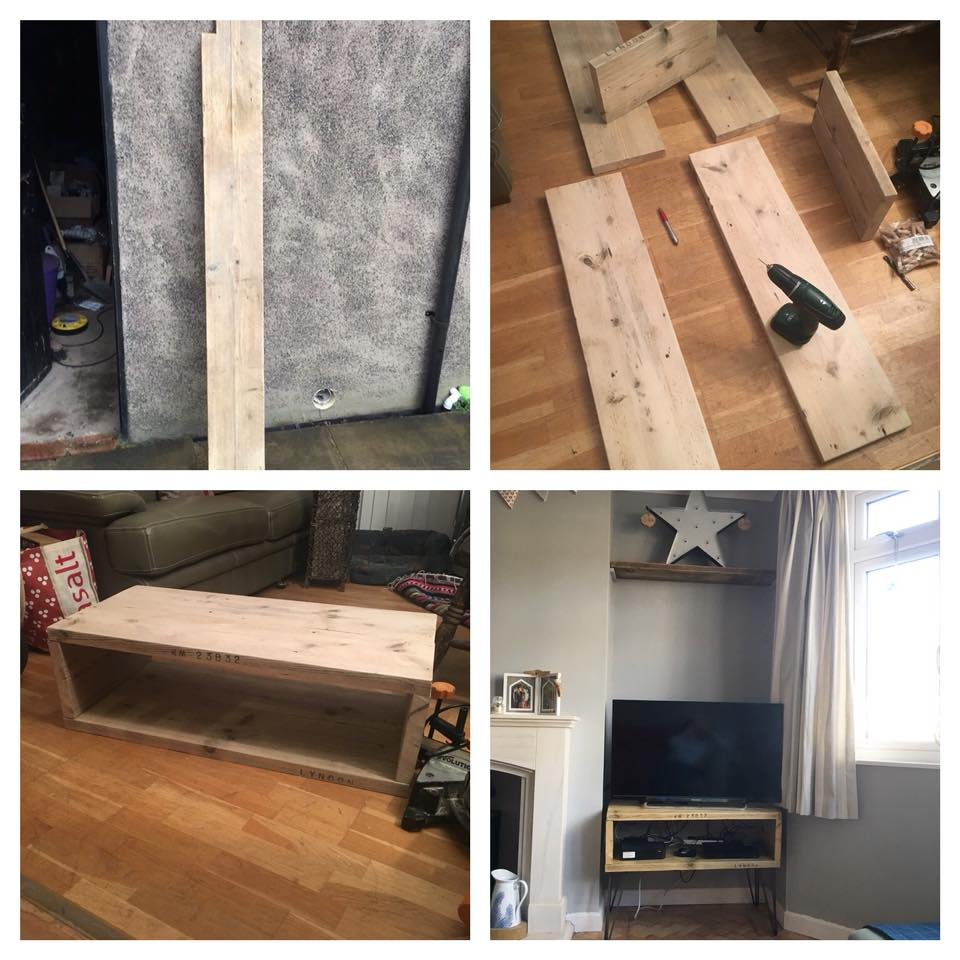 Reclaimed Scaffold Board Ideas Theodore Sons Amp Daughters