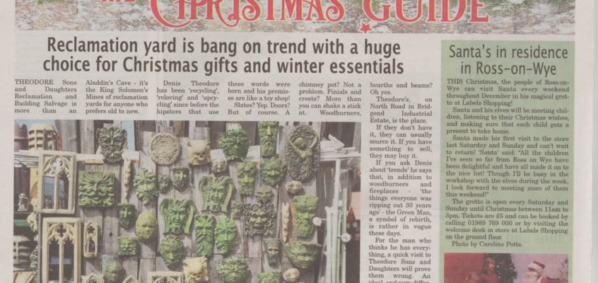 Mention in the Monmouthshire Beacon Paper